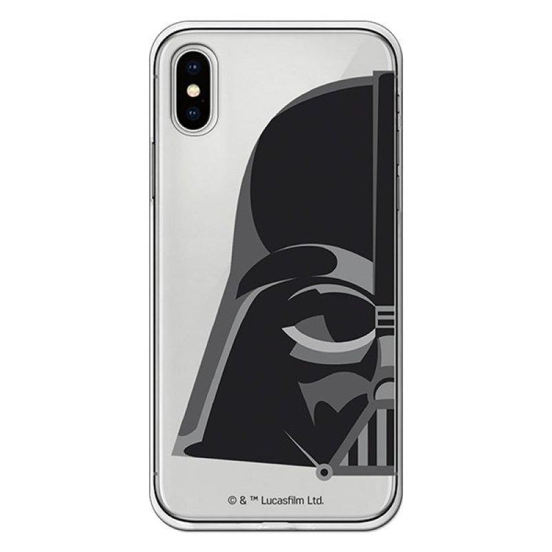 Funda Star Wars Darth Vader Transparente Para IPhone X