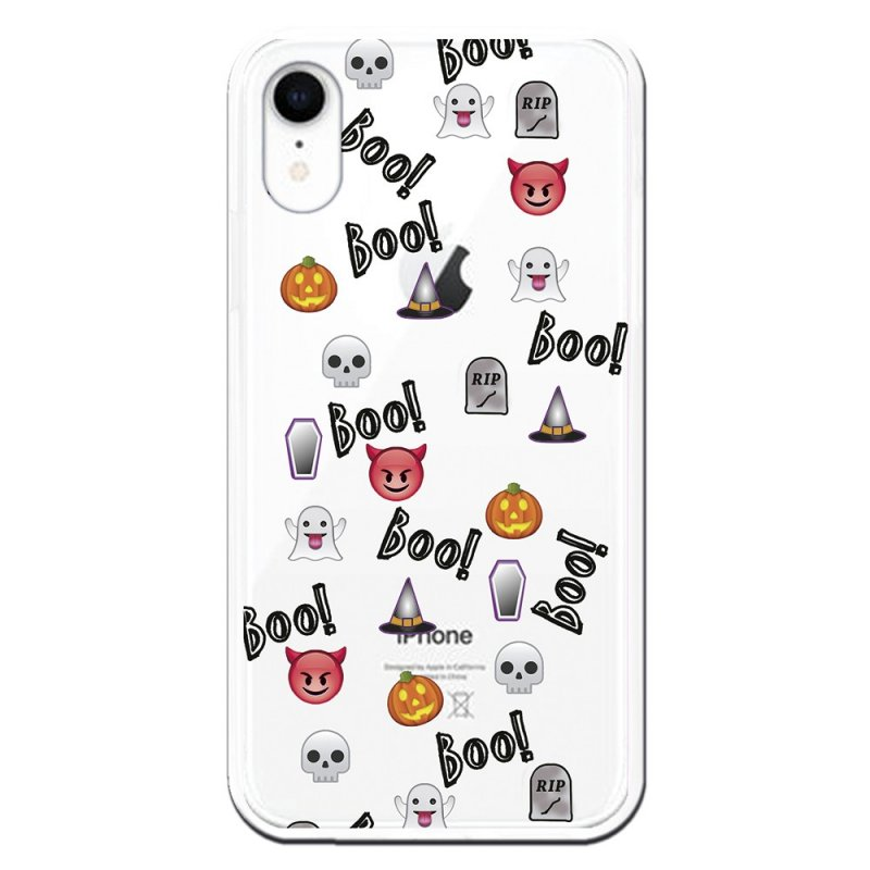 Funda Halloween Icons Para IPhone XR