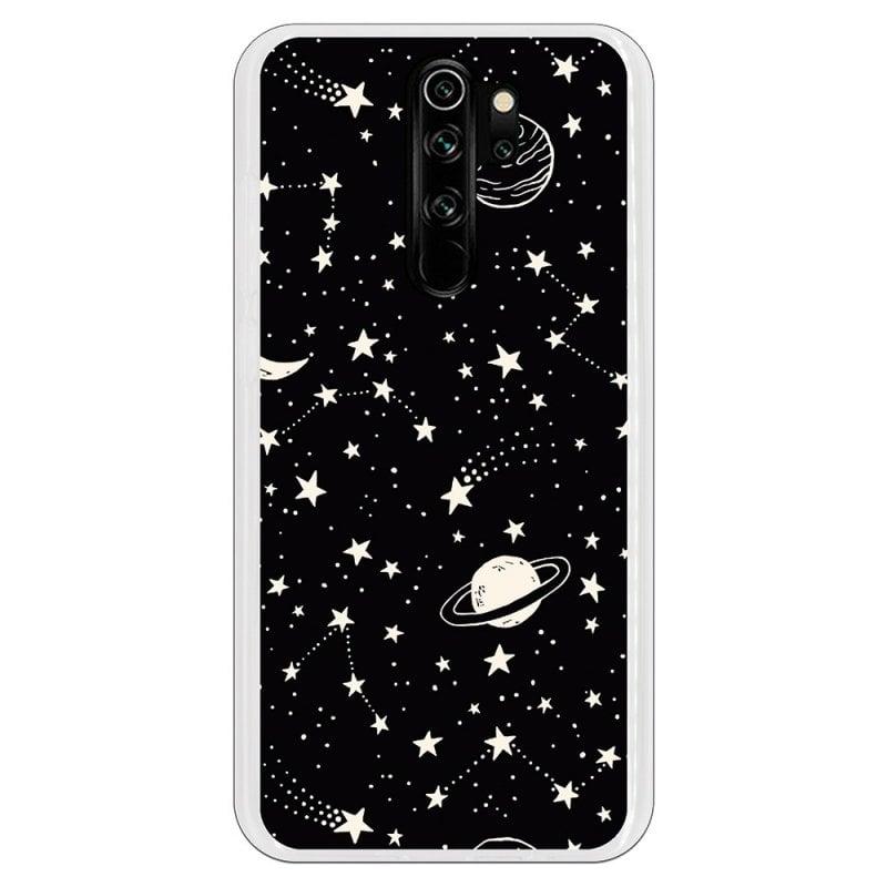 Funda Planetas Fondo Negro Para Xiaomi Redmi Note 8 Pro