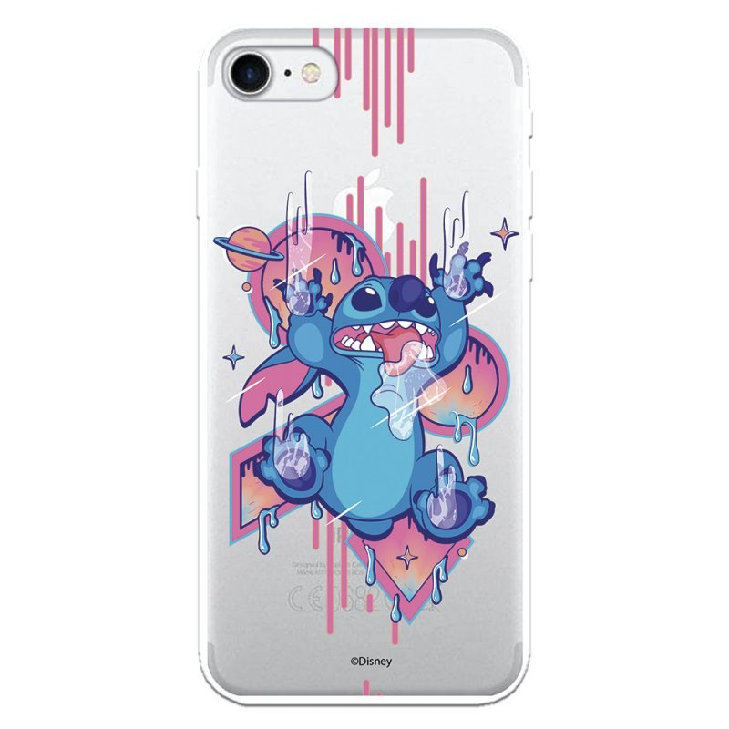 Funda Oficial De Disney Stitch Graffiti  Lilo & Stitch Para IPhone 7