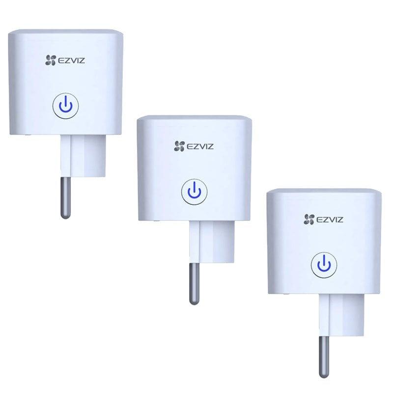 Ezviz Pack 3x T30 Enchufe Inteligente WiFi