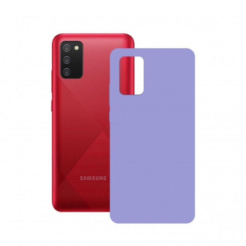Mobile Tech Funda Flex Lavanda Para Galaxy A02S