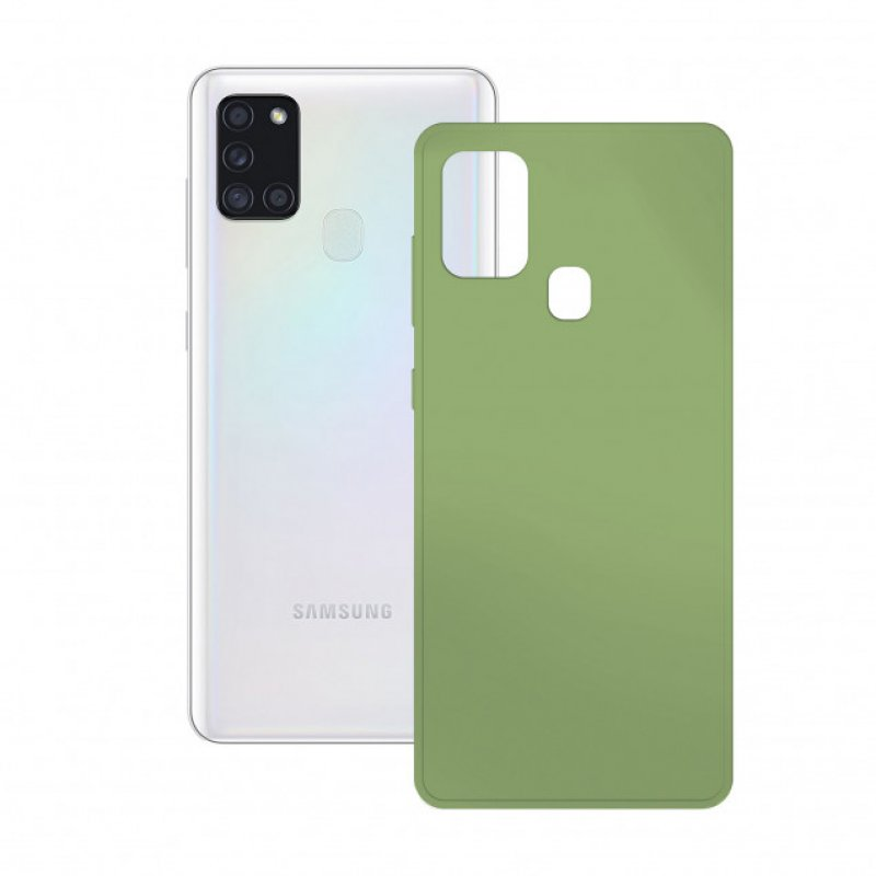 Mobile Tech Funda Flex Verde Para Galaxy A21S