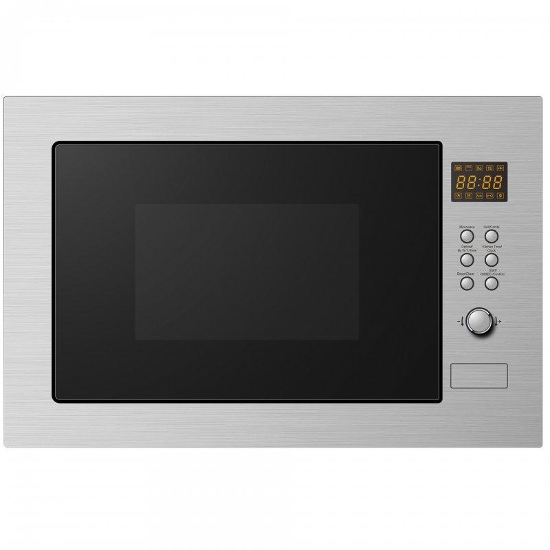 Corberó CMICP125 Microondas Integrable con Grill 25L 900W Acero Inoxidable