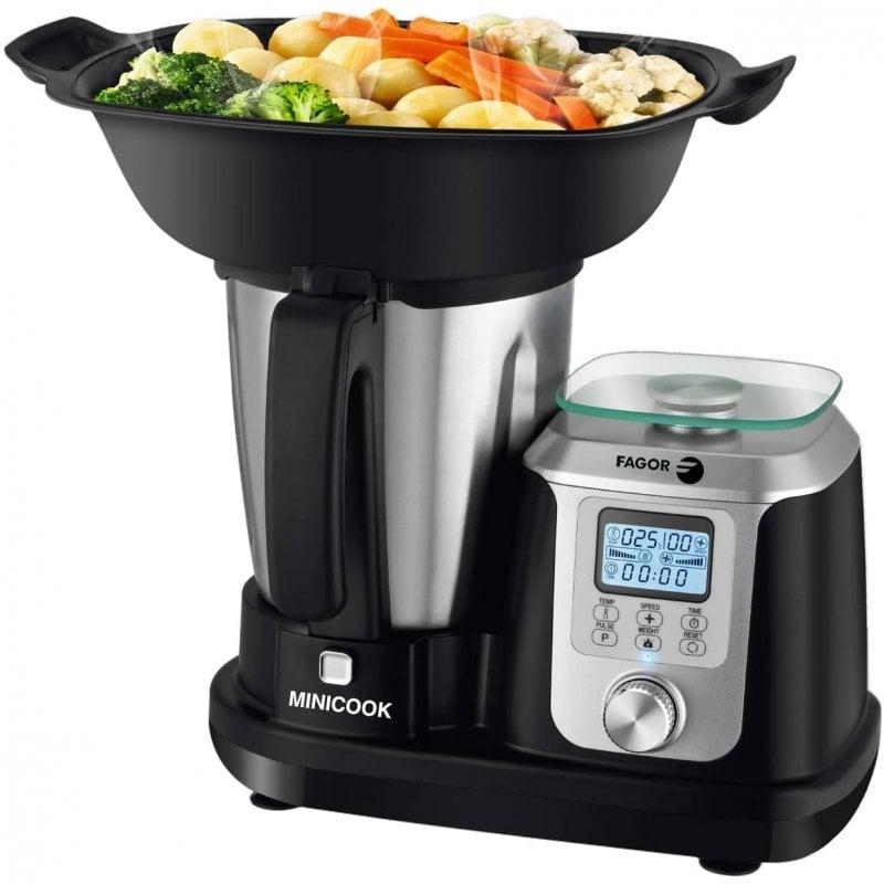 Fagor Minicook Robot De Cocina 2.5L 1200W