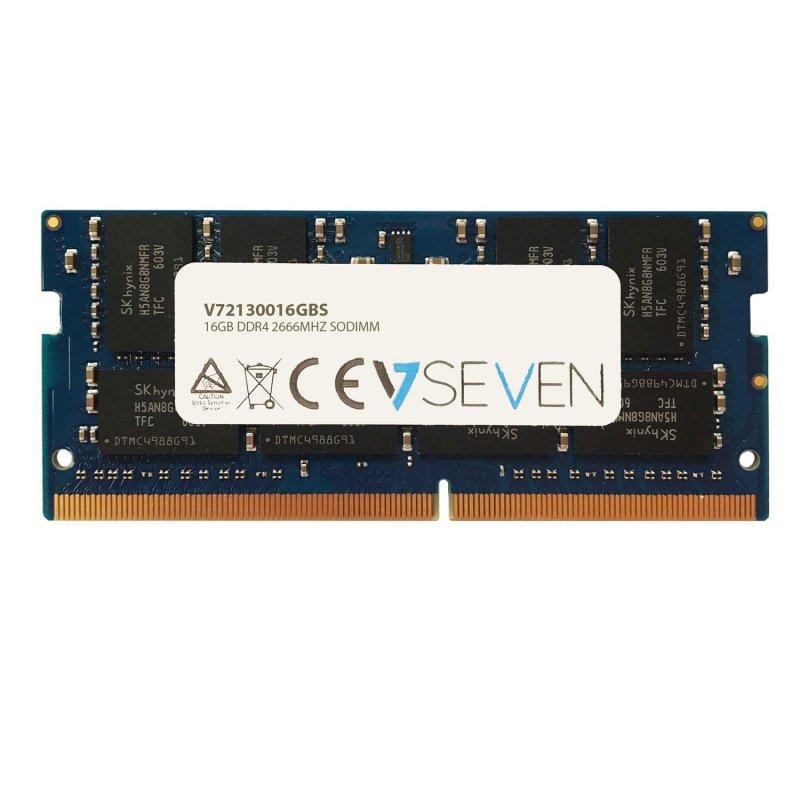 V7 SO-DIMM DDR4 2666MHz PC4-21300 16GB CL19