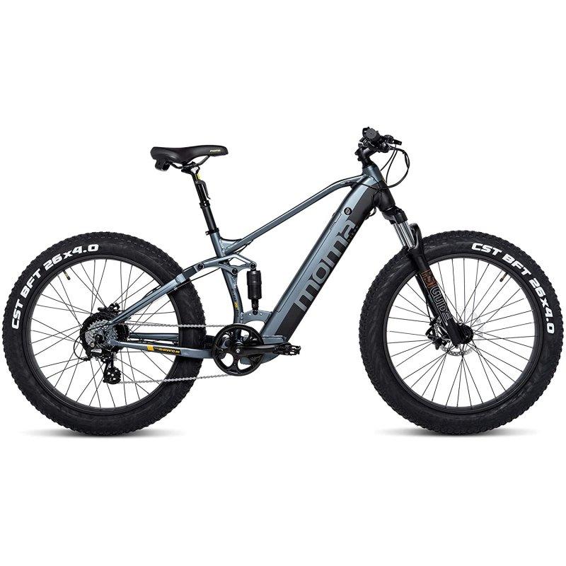 """Moma Bikes E-MTB Fatbike 26"""" Pro Bicicleta Eléctrica De Montaña"""