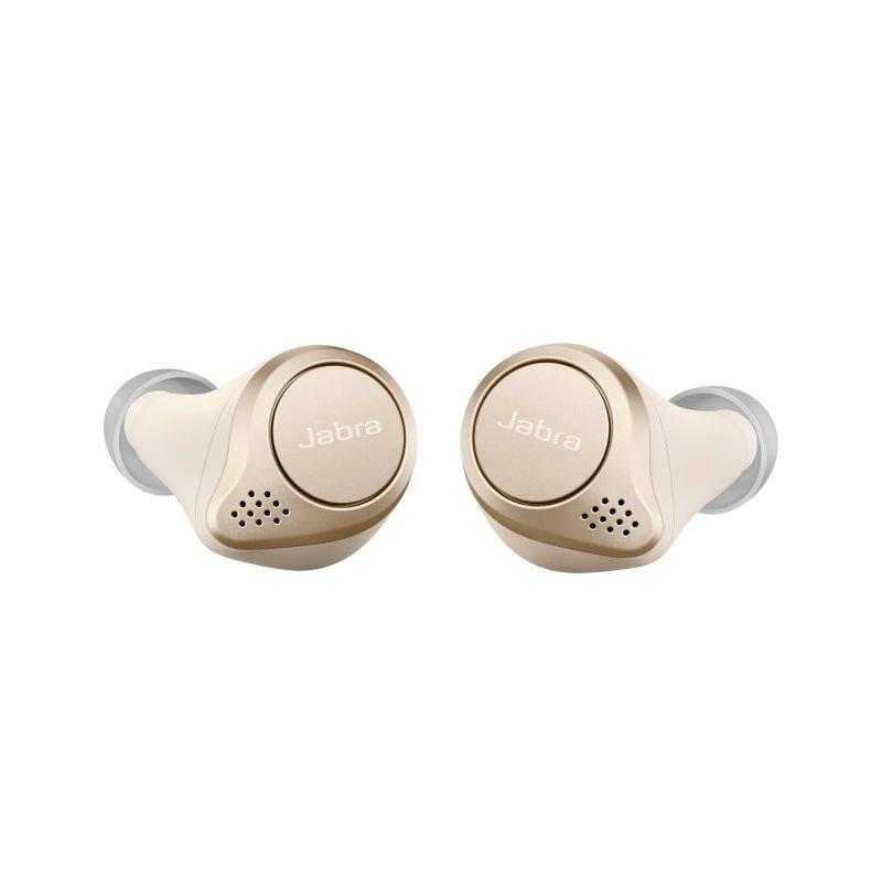 Jabra Elite 75t Auriculares True Wireless Dorado/Beige
