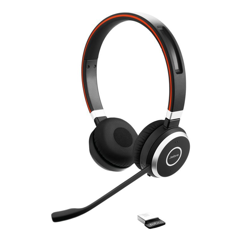 Jabra Evolve 65 Auricular Estéreo Con Cable Para Softphone VoIP