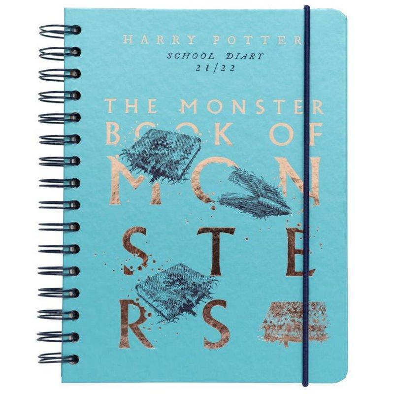 Erik Agenda Escolar 2021/2022 A5 Semana Vista Monster Book Harry Potter