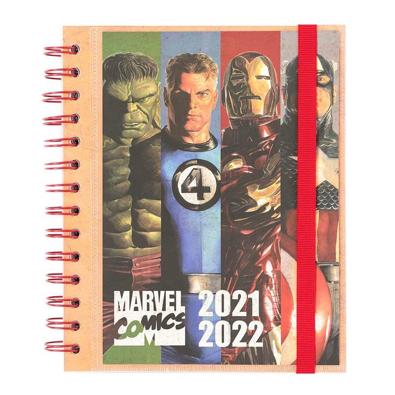 Erik Agenda Escolar 2021/2022 Semana Vista Marvel