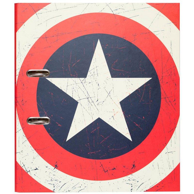 Erik Archivador Con Compresor Marvel Captain America Shield