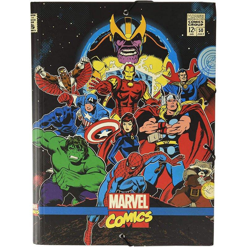 Erik Carpeta Solapas Marvel Comics Vengadores