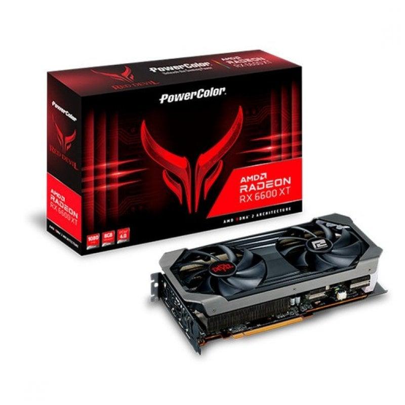 PowerColor Red Devil AMD Radeon RX 6600XT 8GB GDDR6