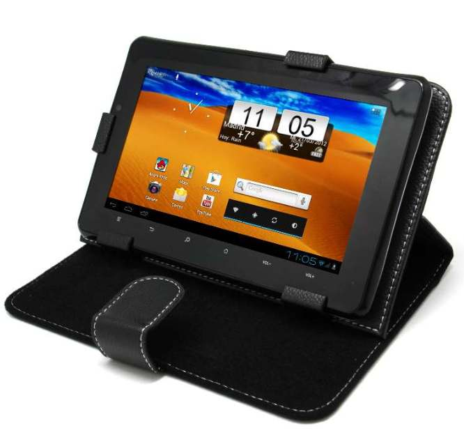 5f8c2a319c0 Funda Universal Negra para Tablet PC 7