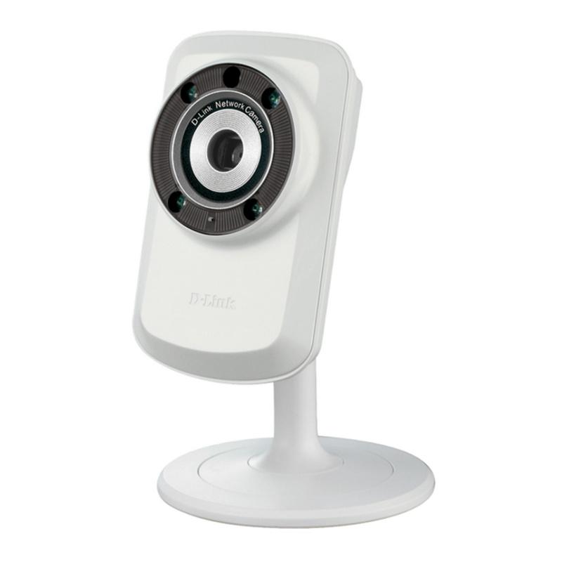 D link dcs 932l c mara de seguridad wifi n visi n nocturna for Camara de seguridad wifi