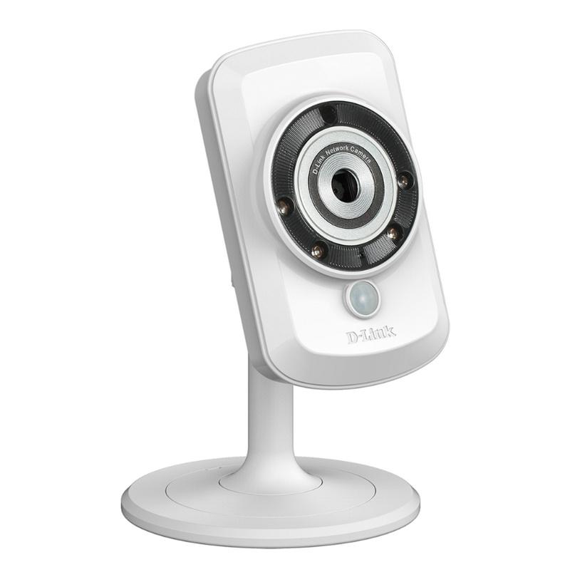 D link dcs 942l c mara de seguridad wifi n visi n nocturna for Camara de seguridad wifi