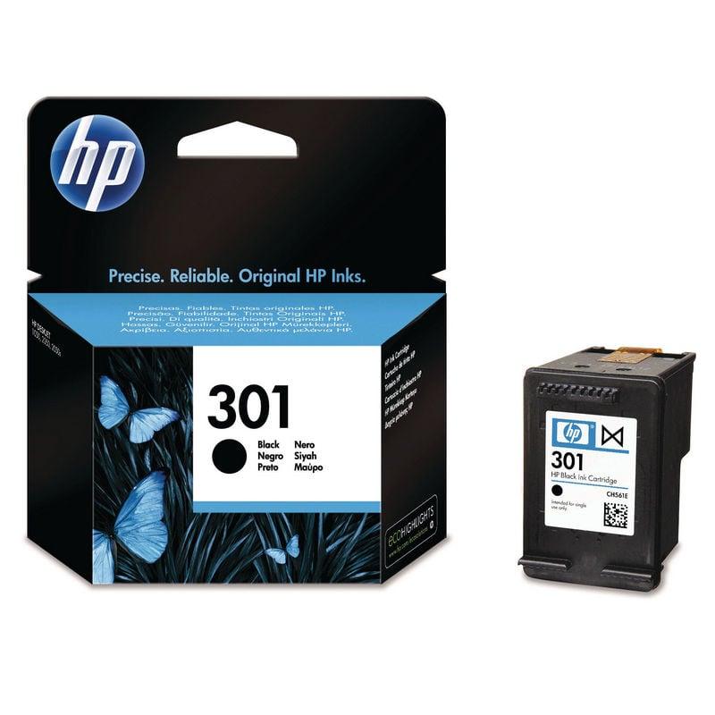 HP 301 Cartucho Tinta Original Negro