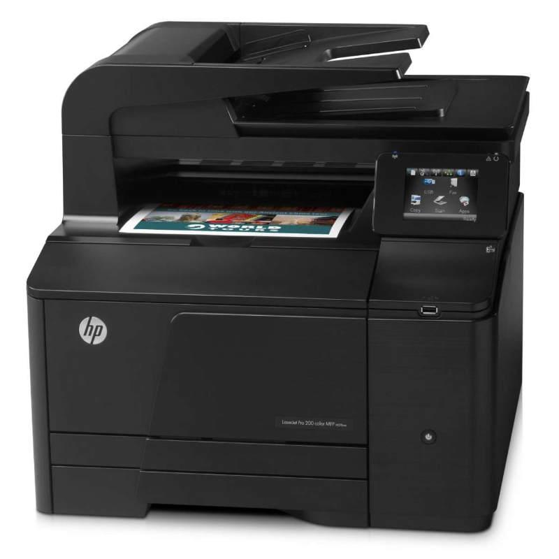 Hp Laserjet Pro 200 M276n Laser Color Fax Red Pccomponentes
