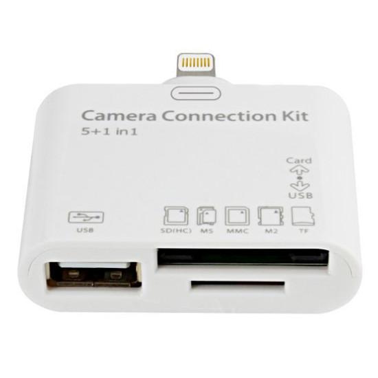 8578c441f728b Adaptador Lightning Lector de Tarjetas USB