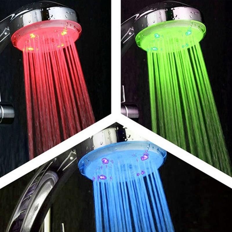 Cabezal de ducha led - Duchas con luz ...