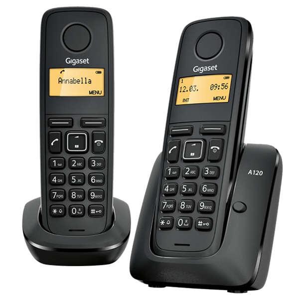 Gigaset A120 Duo Teléfono Inalámbrico