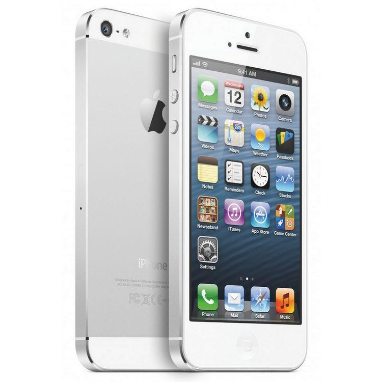 apple iphone 5 16gb blanco uk version libre pccomponentes. Black Bedroom Furniture Sets. Home Design Ideas