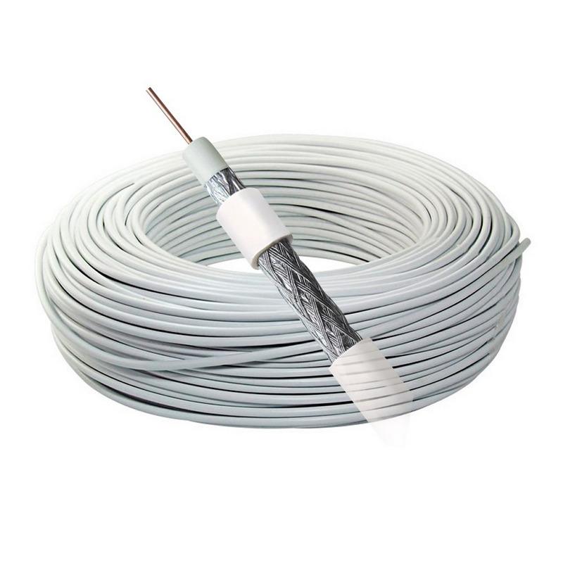 Cable coaxial antena analogico 10m pccomponentes for Cable antena tv precio