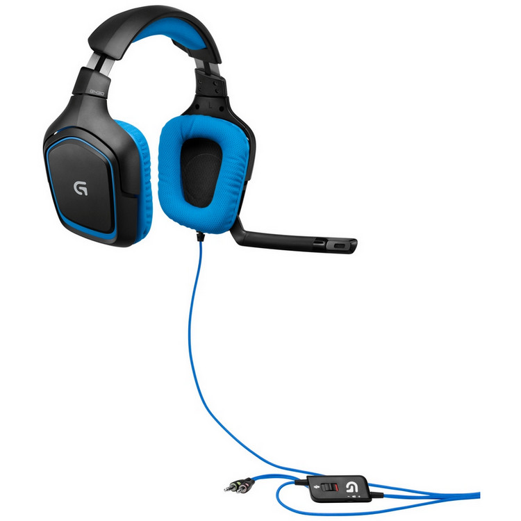 Logitech headset 7 1 - Prize in candle