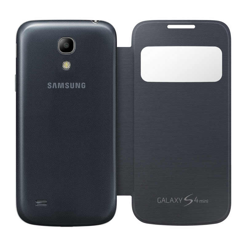 7bc187a1481 Samsung Funda View Cover Negra para Galaxy S4 Mini |PcComponentes
