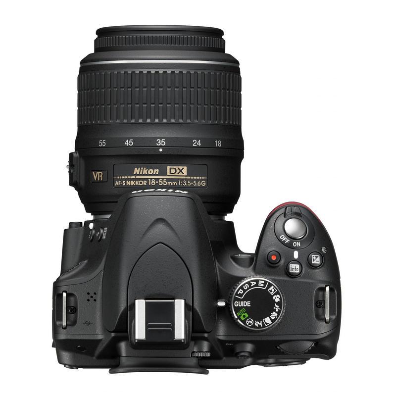 Nikon D3200 24.2MP + 18-55 VR II  PcComponentes