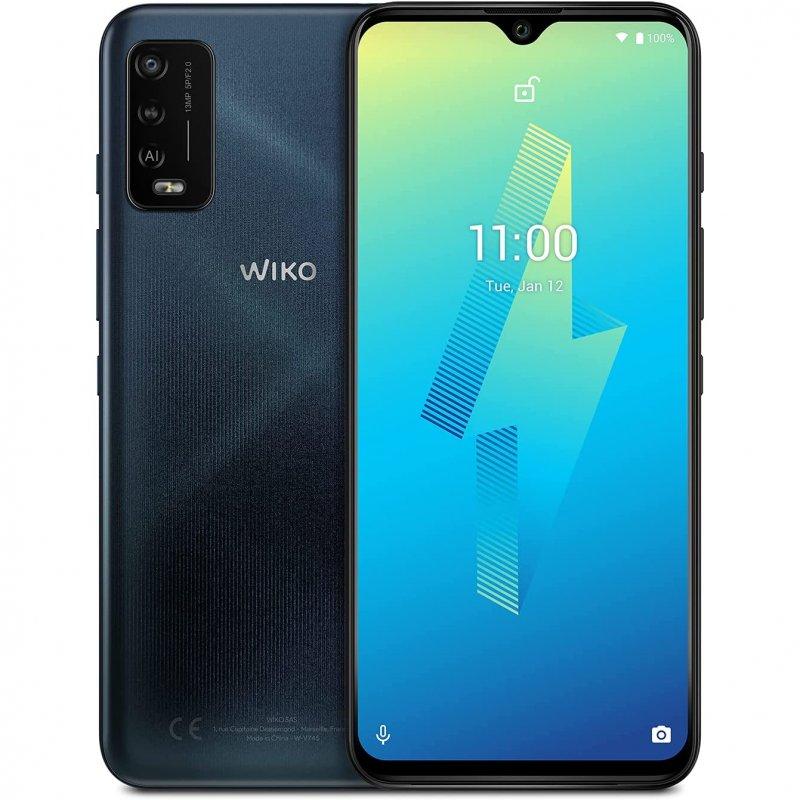 Wiko Power U10 3/32GB Carbone Blue Libre