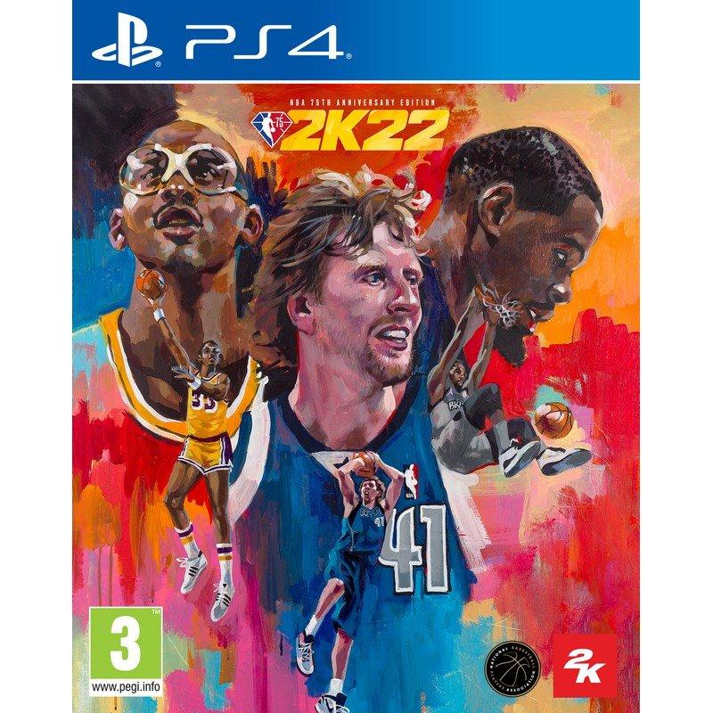 NBA 2K22 75th Anniversary Edition PS4