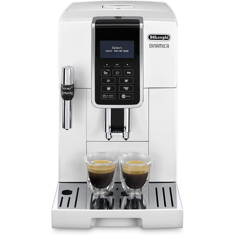 De'Longhi Dinamica ECAM350.35.WH Cafetera Superautomática Blanca