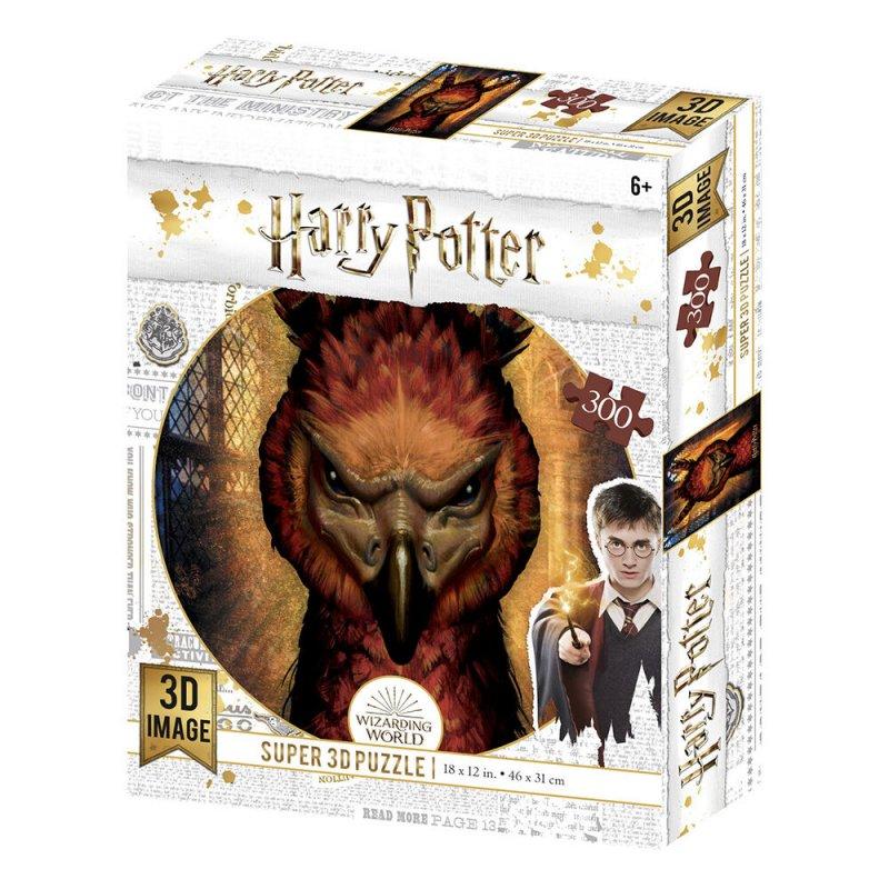 Prime 3D Puzzle Lenticular Harry Potter Fawkes 300 Piezas
