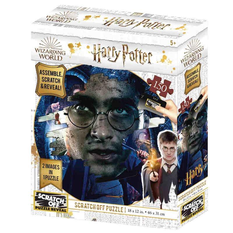 Prime 3D Puzzle Para Rascar Harry Potter 150 Piezas