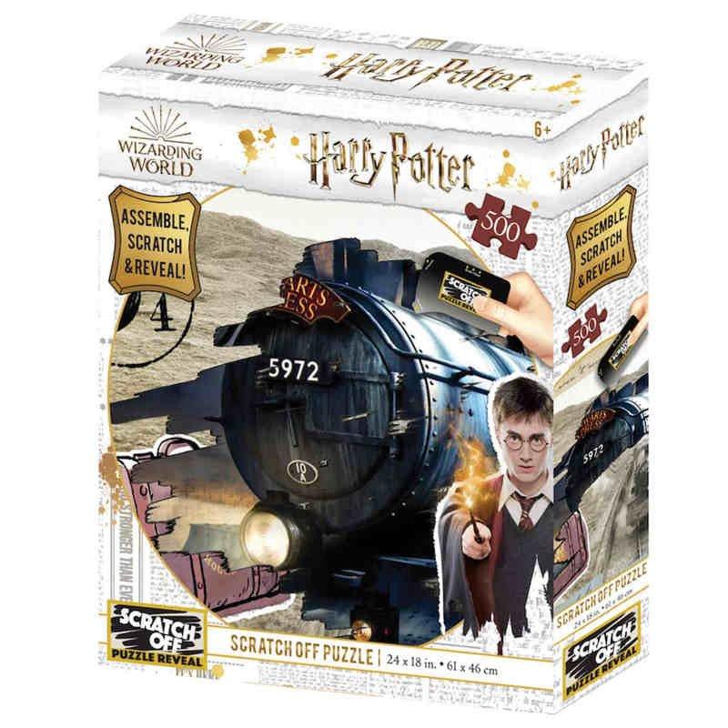 Prime 3D Puzzle Para Rascar Hogwarts Express 500 Piezas