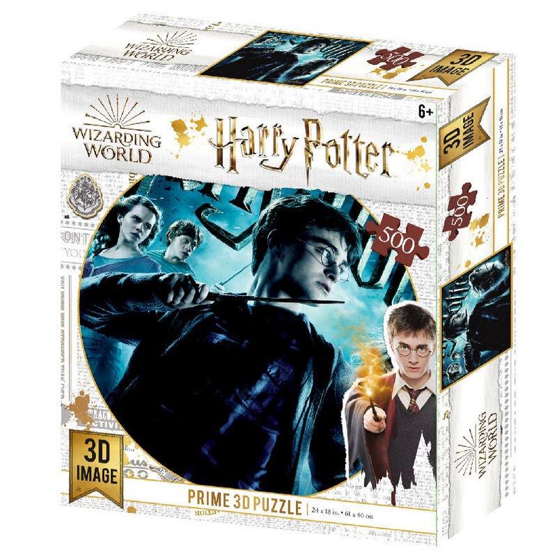Prime 3D Puzzle Lenticular Harry Potter 500 Piezas