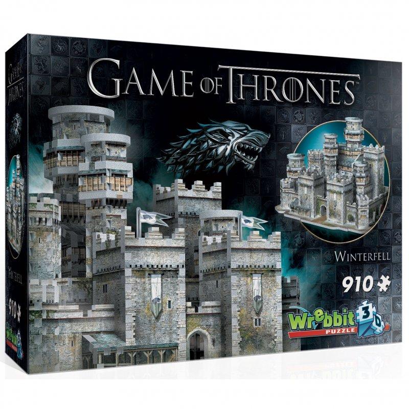 Wrebbit Puzzle 3D Juego De Tronos Invernalia 910 Piezas