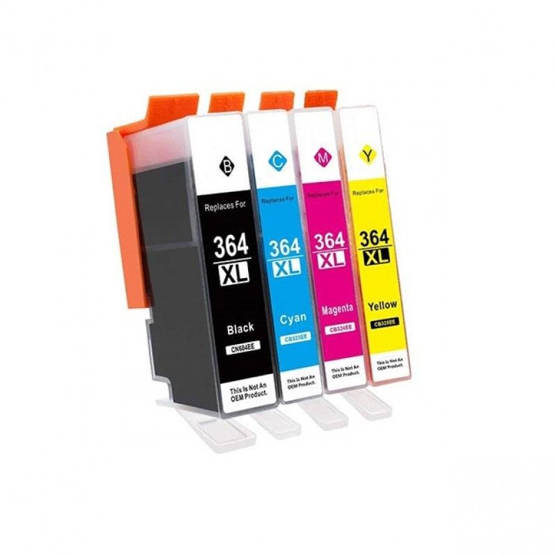 InkPro HP N364 XL Cartucho de Tinta Compatible Amarillo