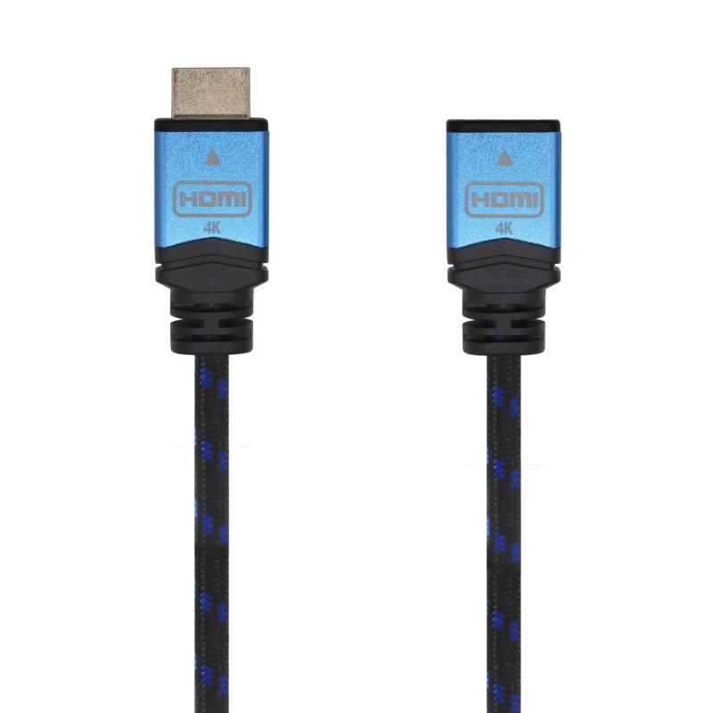 Aisens Cable Alargador HDMI Macho/Hembra 3m Negro