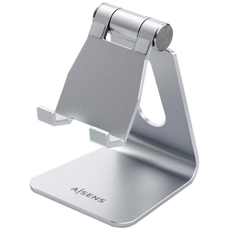 "Aisens Soporte Para Tablet/Smartphone Hasta 8"" Plata"