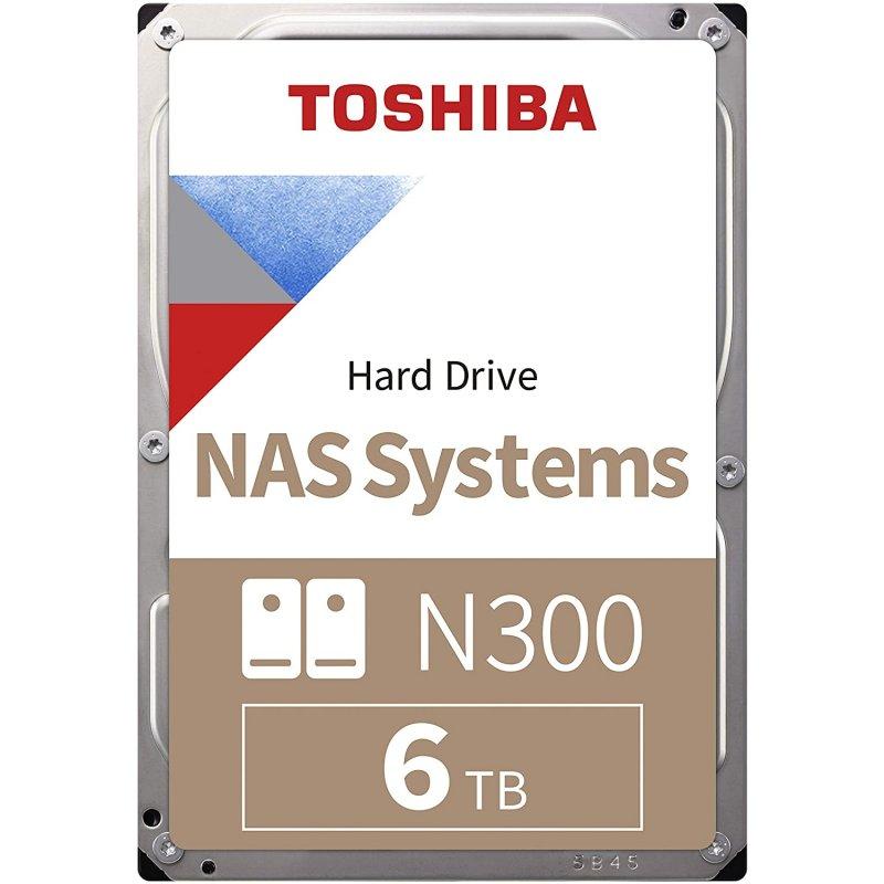 "Toshiba NAS N300 3.5"" 6TB SATA 3"