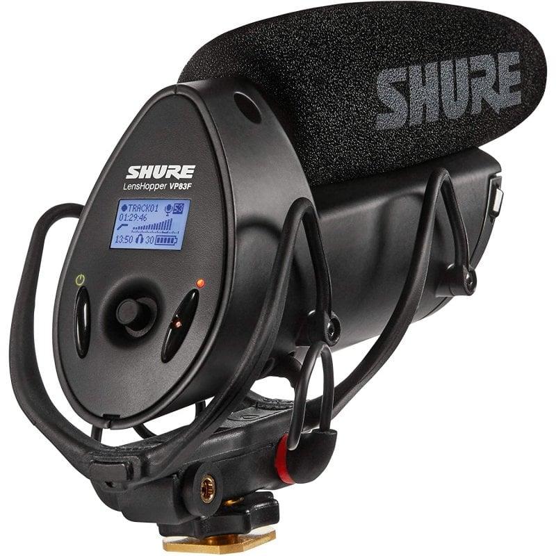 Shure LensHopper VP83F Micrófono Condensador Para Cámara