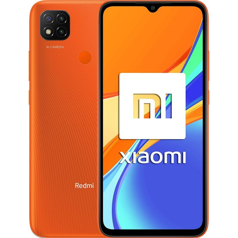 Xiaomi Redmi 9C NFC 3/64GB Naranja Libre