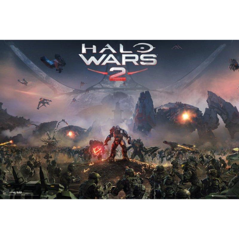 GB Eye Maxi Póster Halo Wars 2 Key Art 91.5x61cm