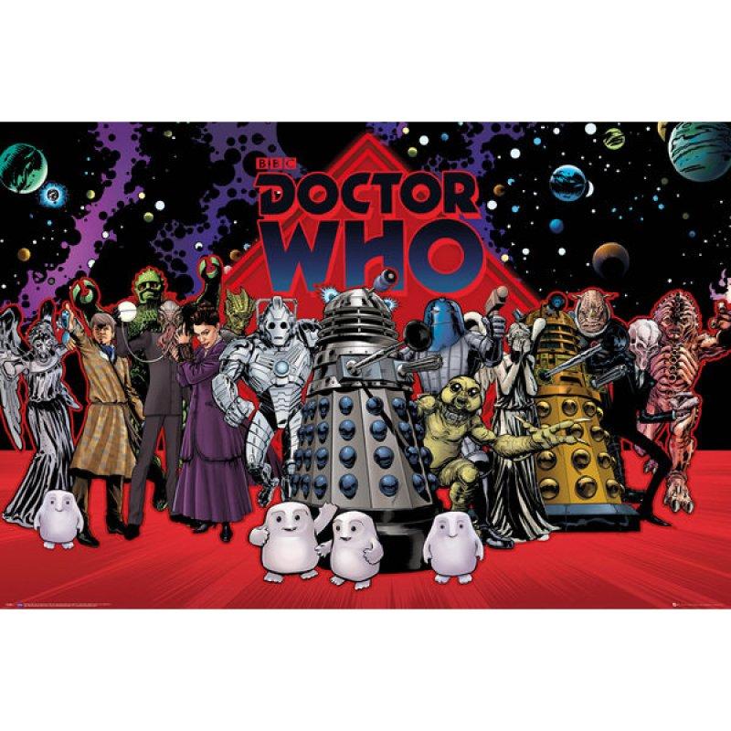 GB Eye Maxi Póster Doctor Who Compilación 91.5x61cm