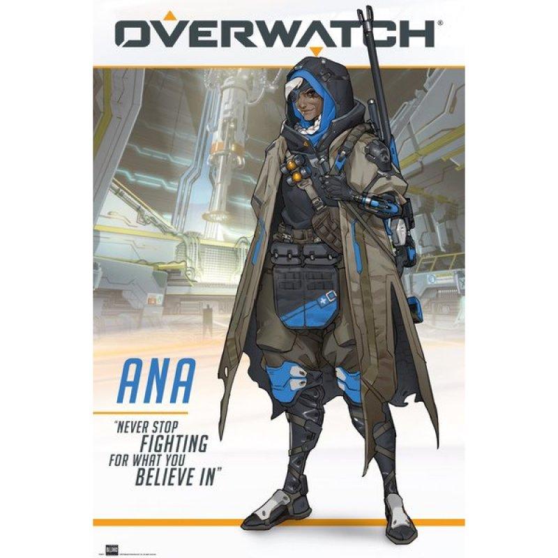 GB Eye Maxi Póster Overwatch Ana 91.5x61cm