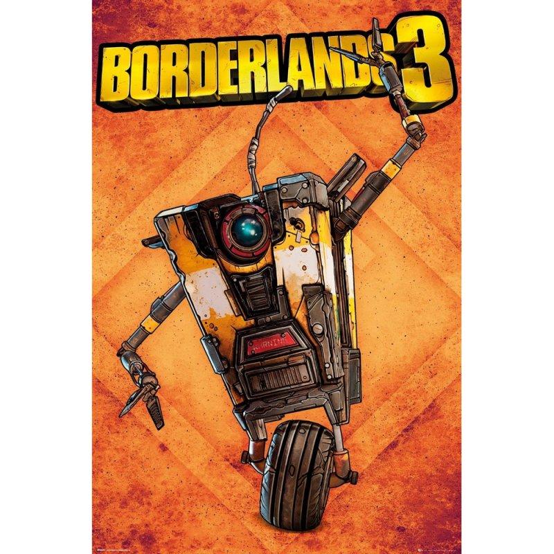 GB Eye Maxi Póster Borderlands 3 Claptrap 91.5x61cm
