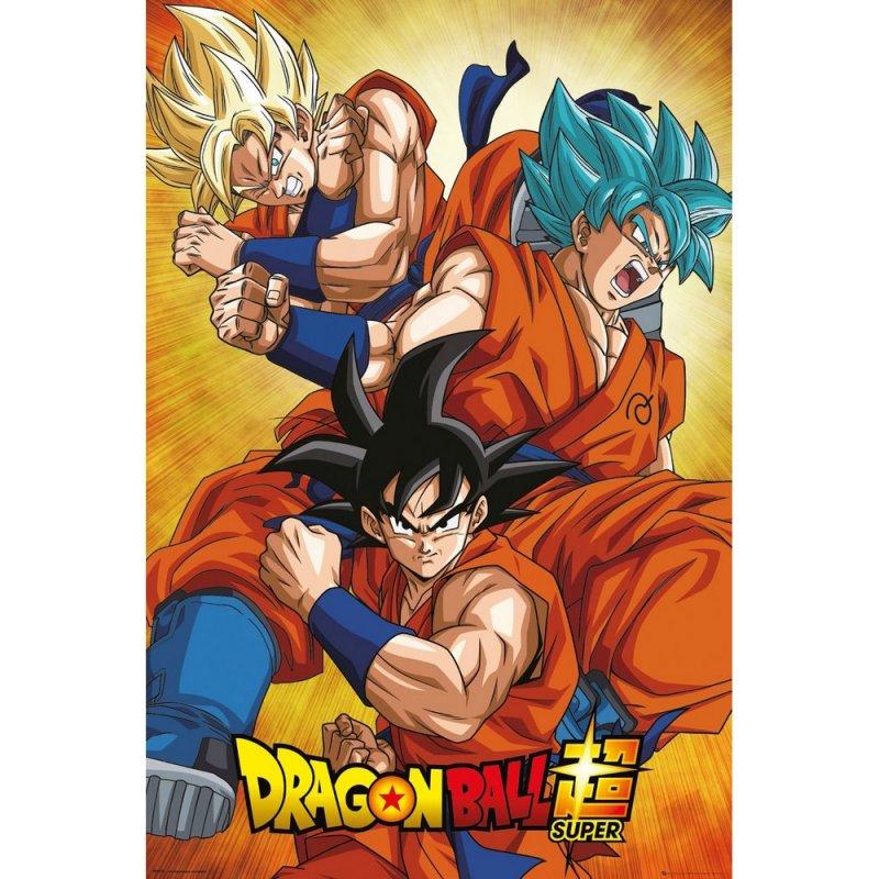 GB Eye Maxi Póster Dragon Ball Super Goku 91.5x61cm